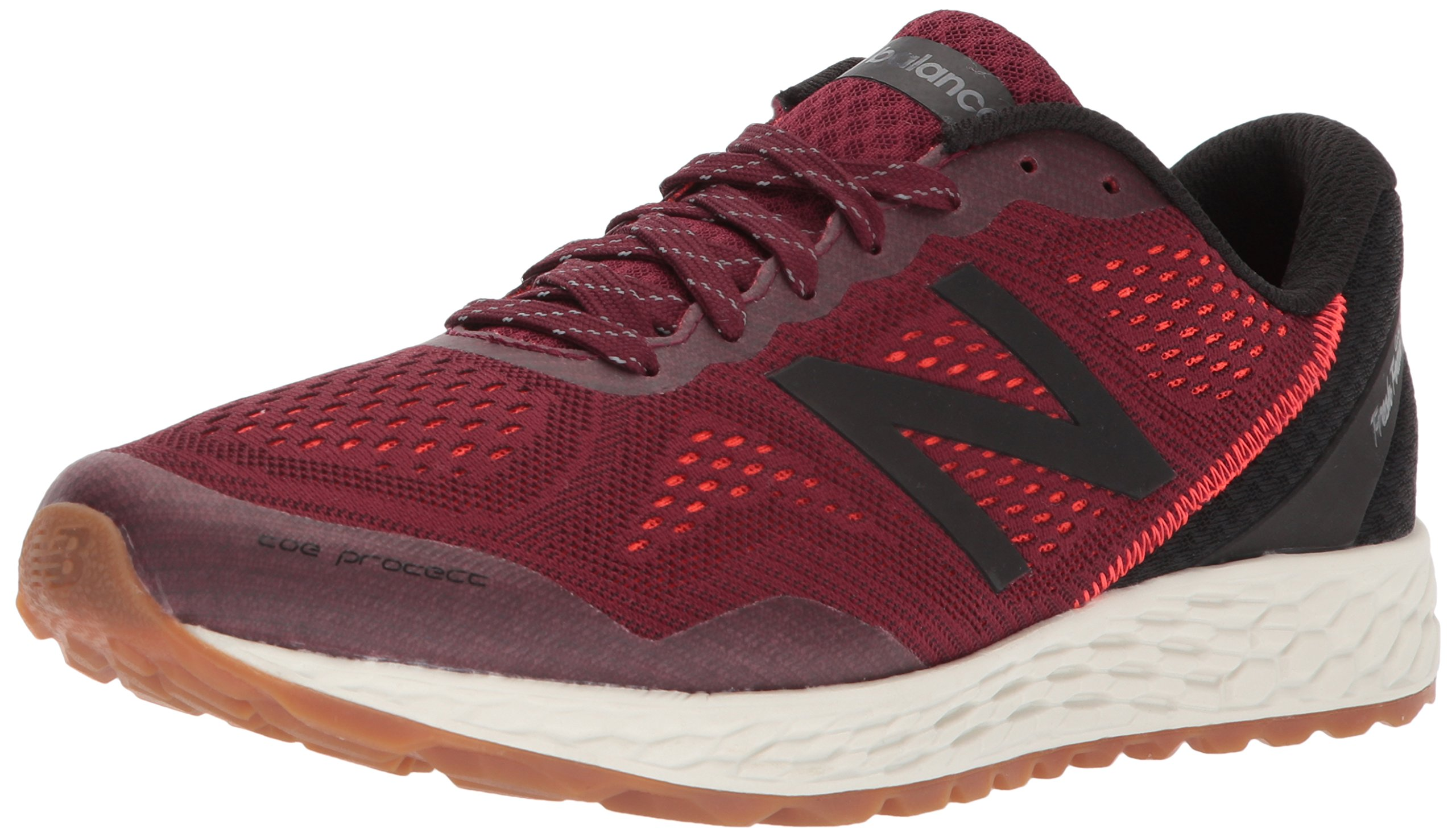 New Balance Men's Gobi v2 Fresh Foam Trail Running Shoe, Burgundy/Black, 11 D US