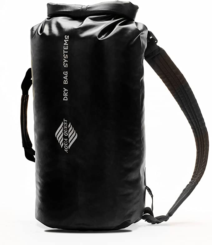 8 L Grand Drysack pochette Noir//Vert//Rouge Etanche Camping Sac à dos