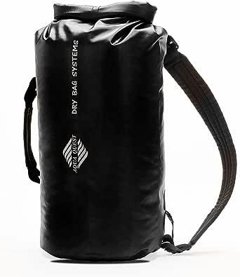 Aqua Quest Mariner Backpack - 100% Waterproof Lightweight Dry Bag - 10, 20 or 30 Liter - Black, Green, Yellow or Blue