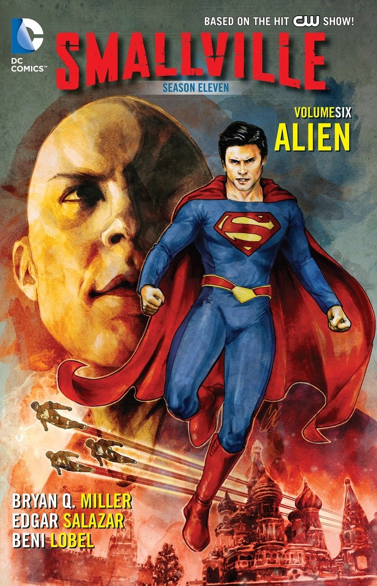 Smallville Season 11 Comic Book