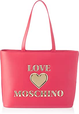 Love Moschino Ss21, Bandolera para Mujer, Negro, Talla única