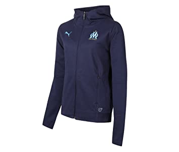 66e2693430696 Puma Veste survêtement Coton Om WNS Casual Performance Hoody: Amazon ...