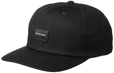 58a1b9b7a7395 Amazon.com: Rip Curl Men's Wilson SB Cap, Black, 1SZ: Clothing