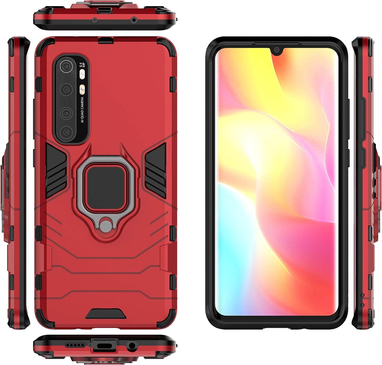 Funda DAMONDY para Xiaomi Mi Note 10 Lite - Rojo