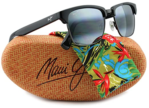 3958627581d Maui Jim MJ-257-17C Kawika Sunglasses Gloss Black w  Neutral Grey 257-17C  54mm Authentic  Amazon.co.uk  Clothing
