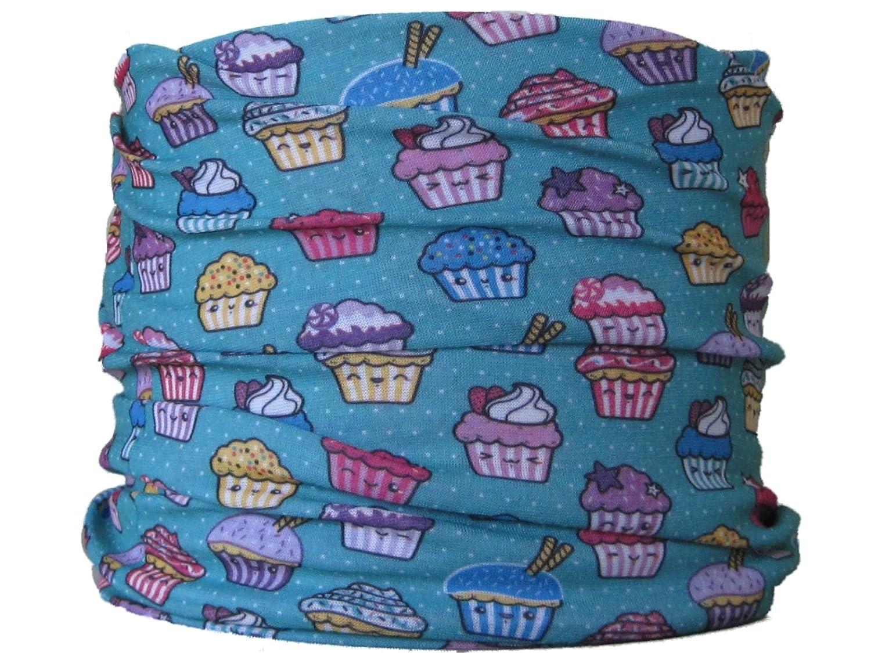 Multifunctional Headwear (CHILD SIZE Cupcakes