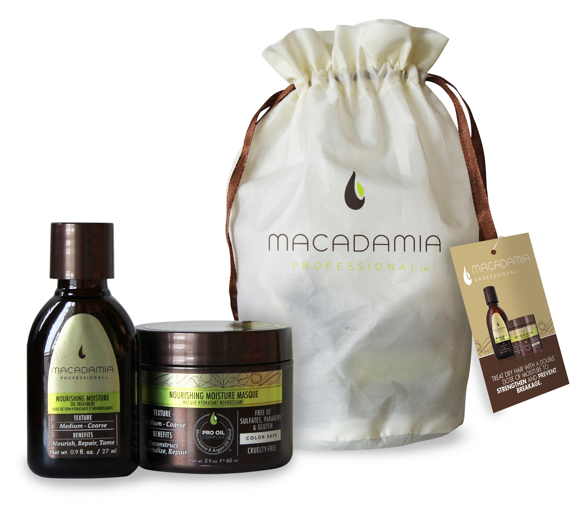 Hydrate and Repair Mini Kit - For Medium to Coarse Hair Textures by Macadamia Professional (Image #1)
