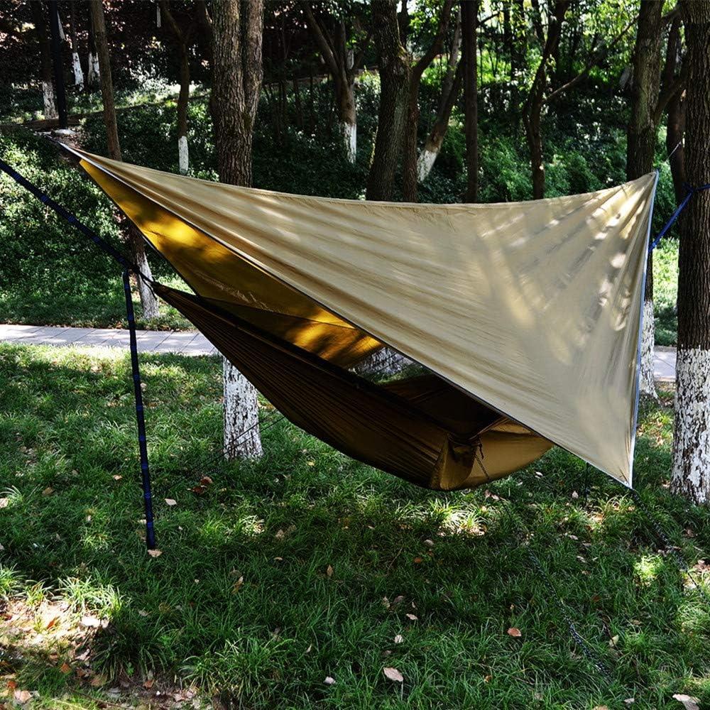 YZ-Room Hammock RAIN Fly Tent TARP-Camping Hammock Tarp Rain Tarp Shelter Ripstop Rain Fly Camping Hammock Rain Fly Tent Tarp