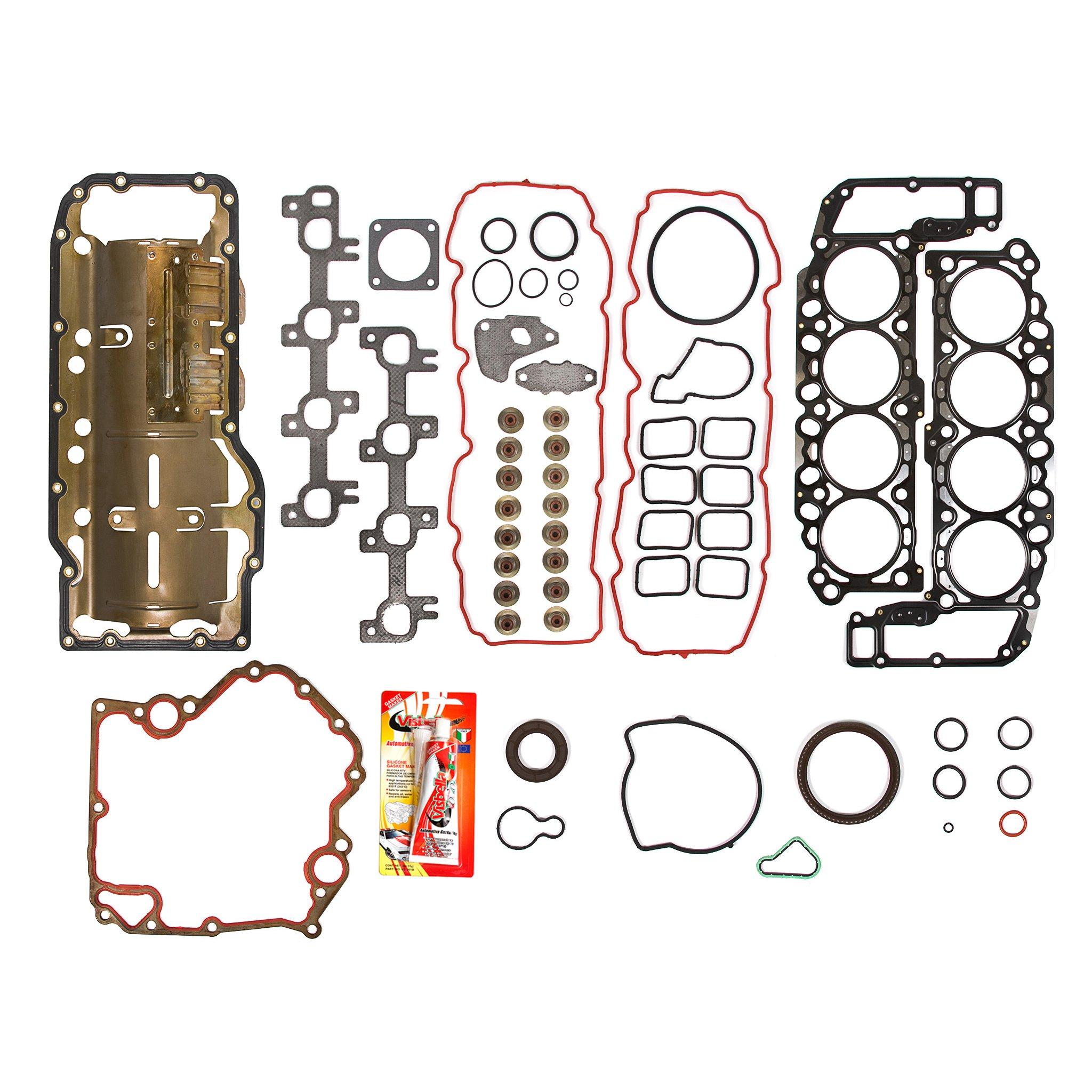 99-02 Dodge Jeep 4.7 Liter 287 V8 Vin N Full Gasket Set by Domestic Gaskets