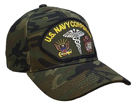 Corpsman Hat US Navy Marine Corps CAMO Ball Cap