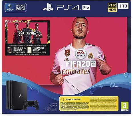 PlayStation 4 (PS4) +FIFA20/FUTVCH/Psy 14 días PS4 Pro 1TB G/SPA ...