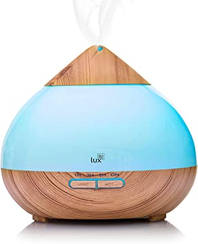 LED Ultraschall Luftbefeuchter Auto Aroma Diffuser 200ml Aromatherapie Duftlampe