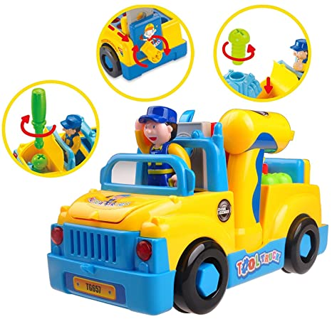 Think Gizmos Juguetes de Aprendizaje Musical para niños pequeños (Camion Musical)