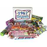 1967 50th Birthday Gift Box of Retro Candy From Childhood Jr
