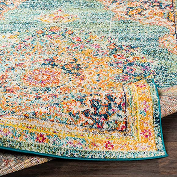 Tomales 5' 3″ x 7' 3″ Moroccan Bohemian Updated Traditional