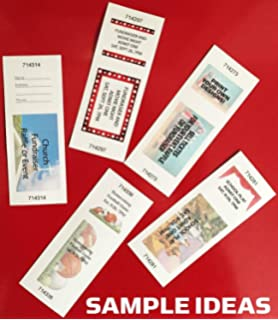 printable raffle and event tickets 50 sheets400 tickets easy printing