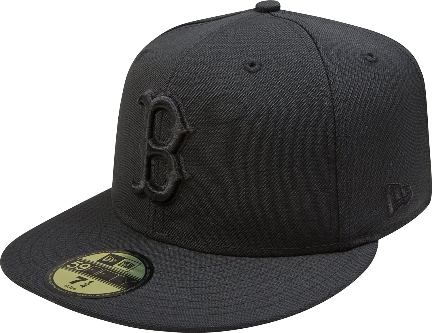 16f682a558397f Amazon.com: New Era Boston Red Sox Black On Black 59fifty Fitted Cap  Limited Edition: Sports & Outdoors