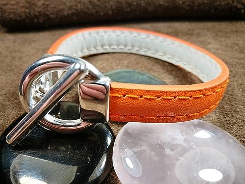 bracelet cuir 17 cm