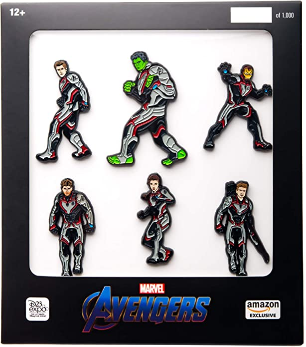 MARVEL AVENGERS ENAMEL PIN BADGE BROOCH HULK IRONMAN AMERICA HAWKEYE BLACK WIDOW