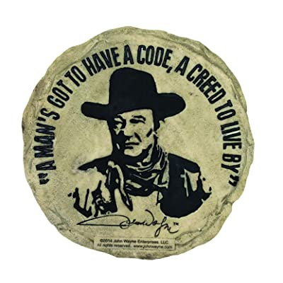 Spoontiques John Wayne Stepping Stone : Garden & Outdoor