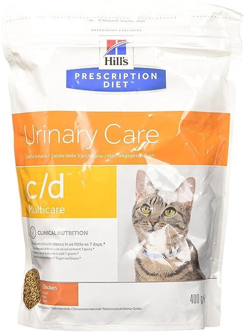 Hills Feline C/D Chicken Comida para Gatos - 400 gr