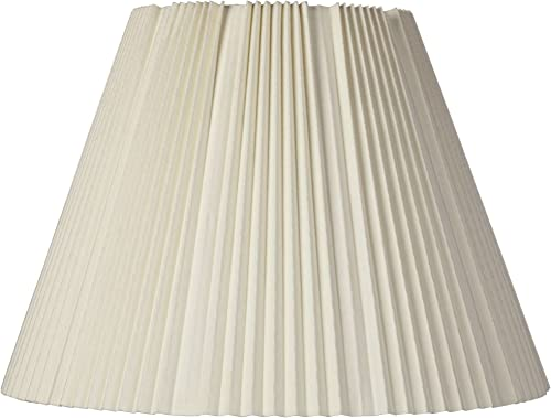 Eggshell Pleated Lamp Shade 9x17x12.25 Spider – Brentwood