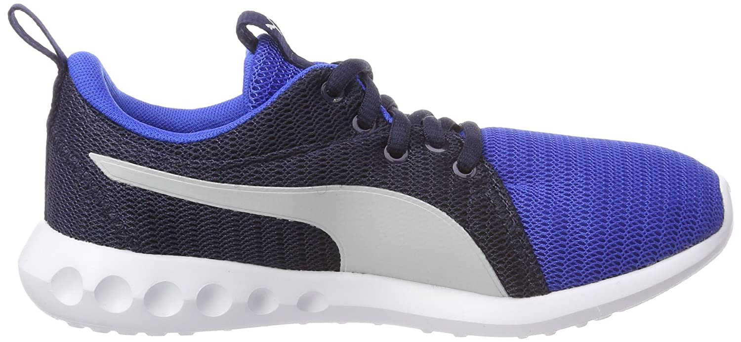 Puma Unisex-Kinder Carson 2 Jr Laufschuhe, Blau (Turkish Sea-Gray Violet), 39 EU