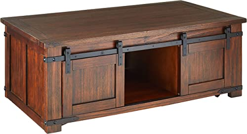 Furniture of America CM4422C Carrie Antique Black Coffee Tables