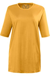 Grandes ShirtRegularRayéManches Popken T Ulla Femme Tailles v8nN0wmOyP