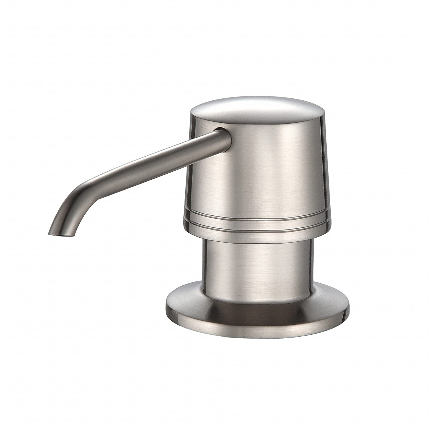 Kraus KSD-30SN Soap Dispenser Satin Nickel - In Sink Soap ...