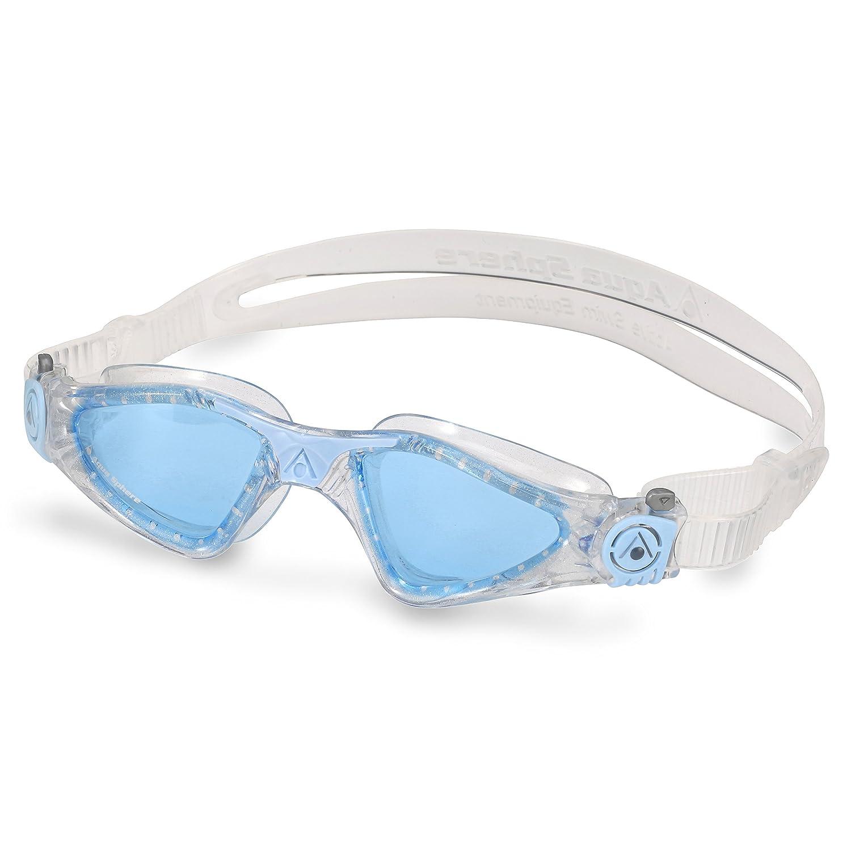 blaues Glas Aqua Sphere Schwimmbrille Kameleon transparent-blau Herren