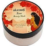 Akamuti - Maschera Viso alla Rosa Lenitiva per Pelle Sensibile e Matura 100 gr