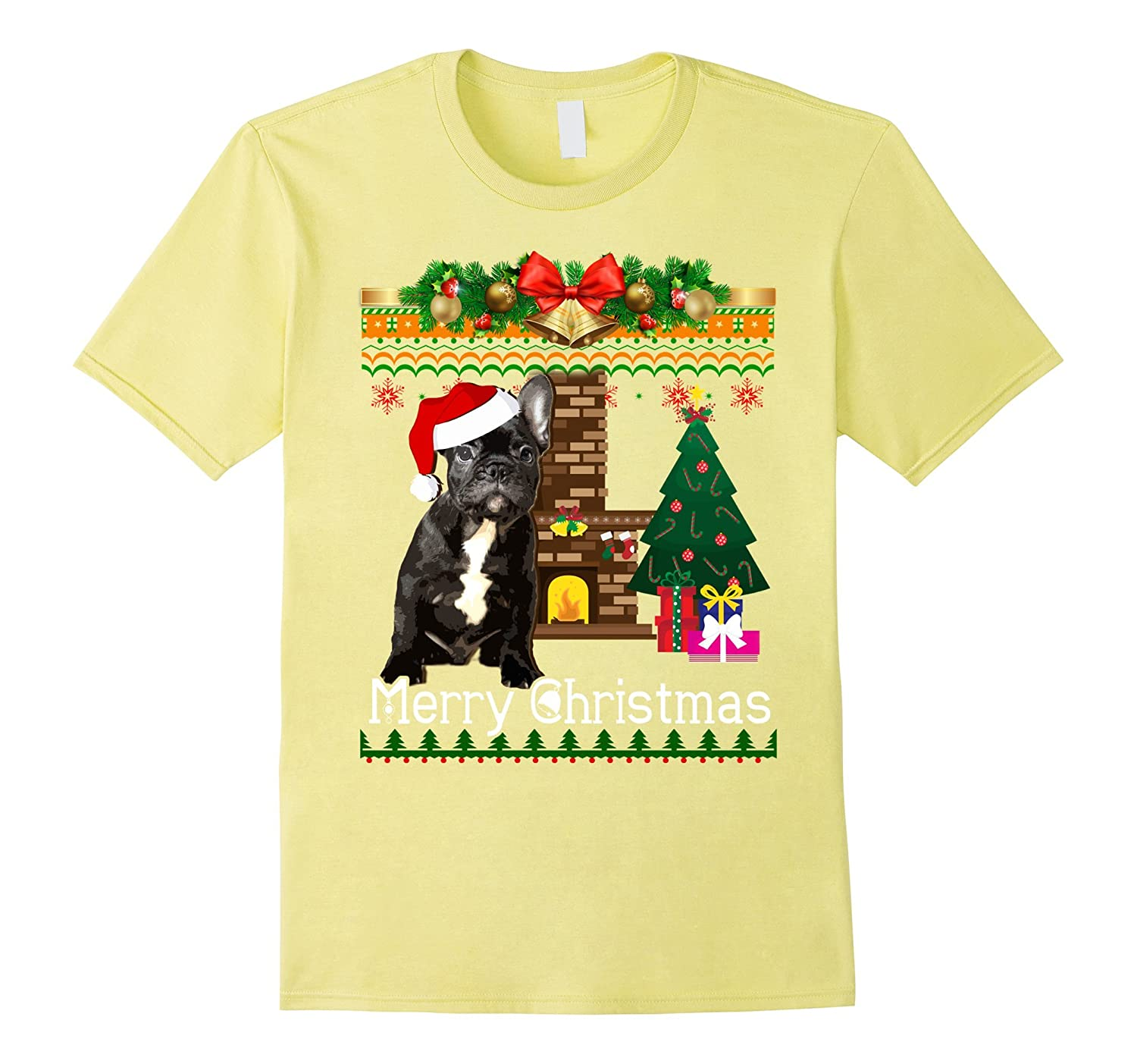 French Bulldog Christmas Jumper.Ugly Christmas Sweater French Bulldogs T Shirt Funny Dog Anz