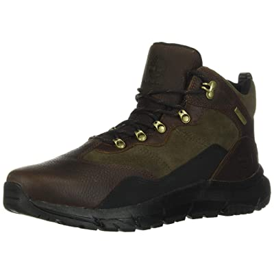 Timberland Garrison Field Waterproof Mid Hiker Men's Boot 11 D(M) US Dark Brown | Hiking Boots