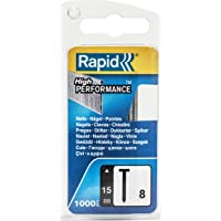 Rapid nagels type blister 1000 stuks (carbell verpakking) 15 mm