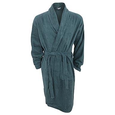 Amazon.com: Universal Textiles Mens Plain Cotton Towelling Robe ...