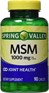 Spring Valley - MSM 1000 mg, 90 Capsules
