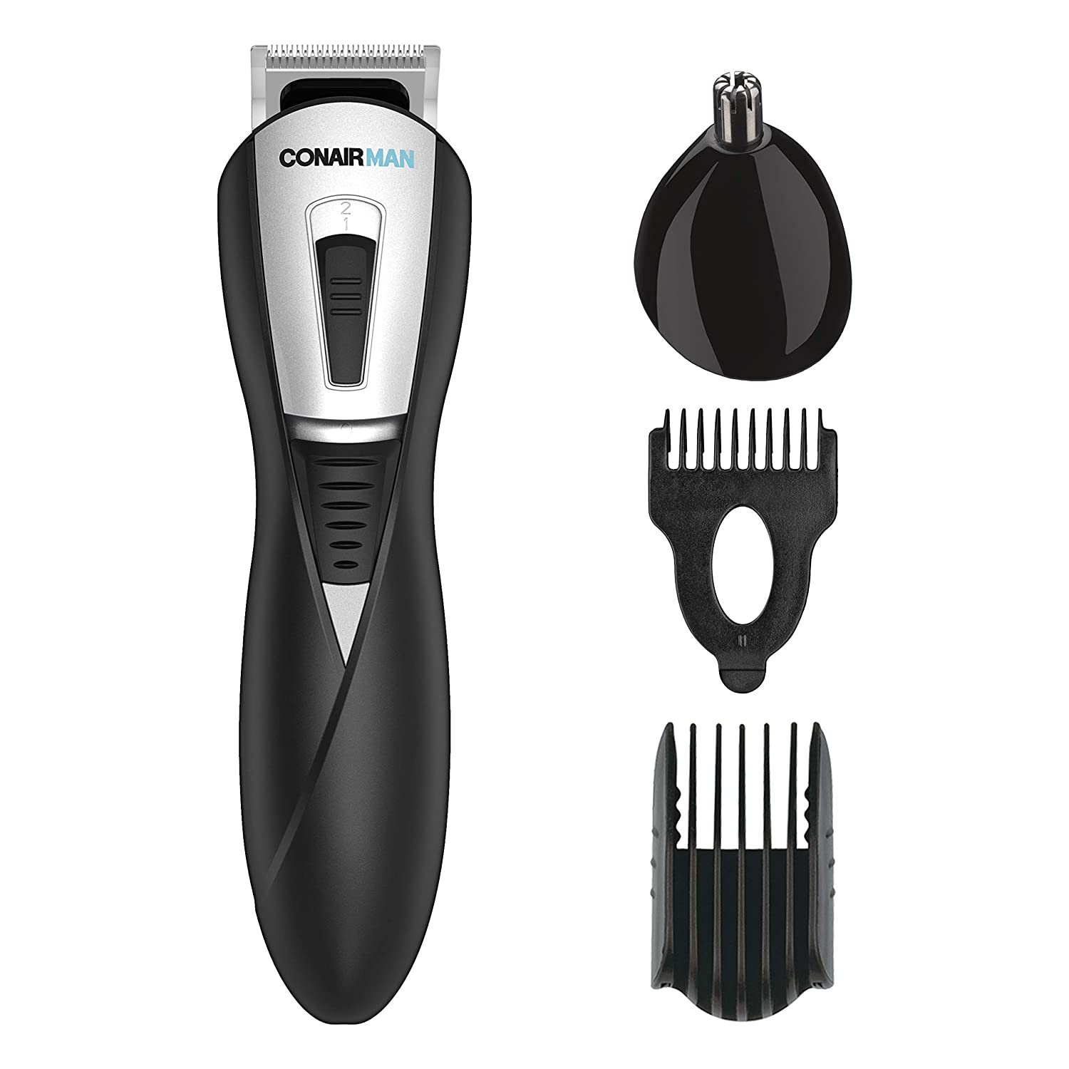 ConairMAN Lithium Ion Powered All-In-1 Men s Trimmer, Battery Operated