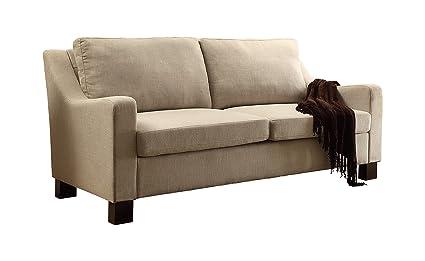 Astonishing Amazon Com Dg Casa 6500 3S Bge Madison Sofa Beige Kitchen Camellatalisay Diy Chair Ideas Camellatalisaycom