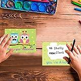 Owl Valentine Bookmark for Kids Valentine Pop-out