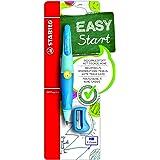 STABILO EASYergo Mechanical Pencil for Left Handed with Sharpener, 3.15 mm - Light/Dark Blue