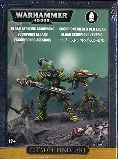 Amazon.com: Citadel finecast Resina: Striking escorpiones ...