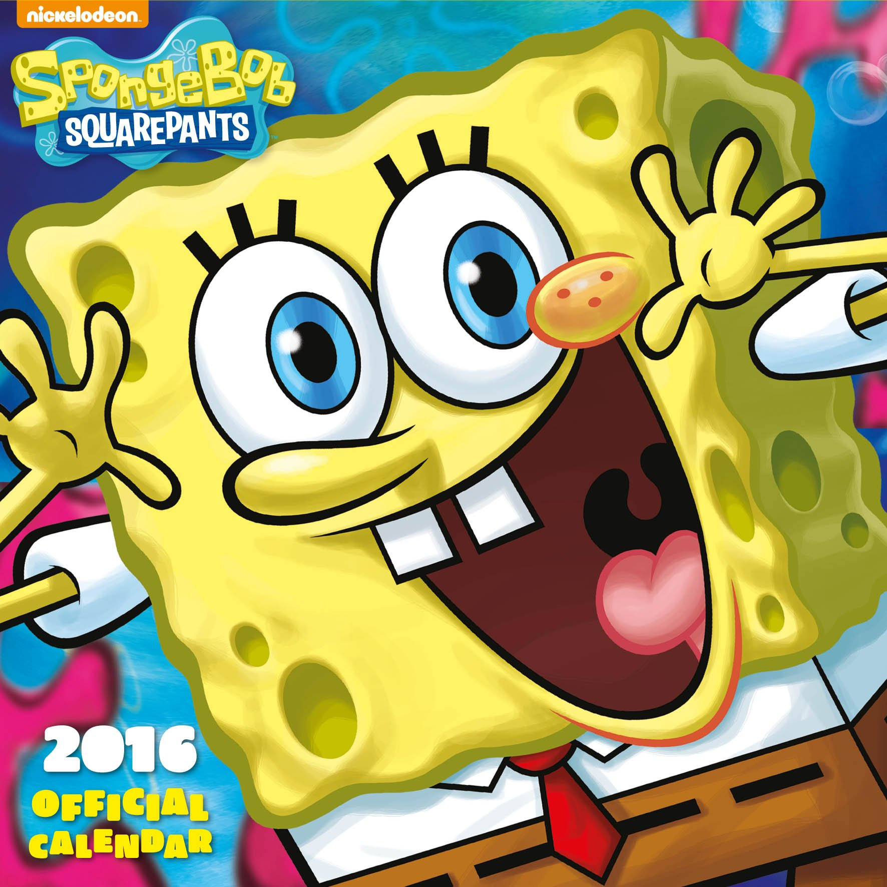 Official Sponge Bob 2016 Square Wall Calendar (Nickelodeon Calendar) Calendario – Ridotto, Audiolibro, Cofanetto Danilo Danilo Promotions Limited 1780548621 Non-Classifiable