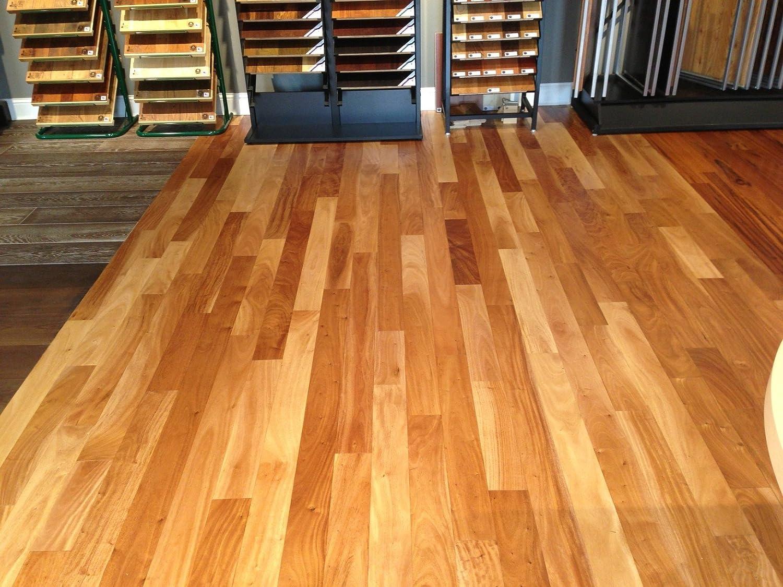 Top Amendoim Brazilian Oak Solid Hardwood Floor (Sample) - Wood Floor  PZ29