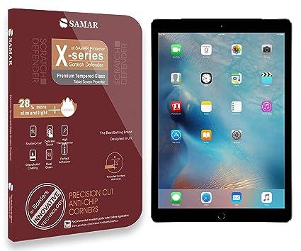 SAMAR – Cristal Templado Protector de Pantalla Apple iPad Pro 9.7