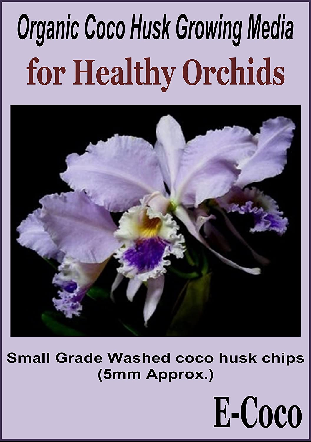 ORCHID COMPOST FINE GRADE SSS COCONUT HUSK CHIPS READY TO USE (1 LITRE) E-Coco Products UK