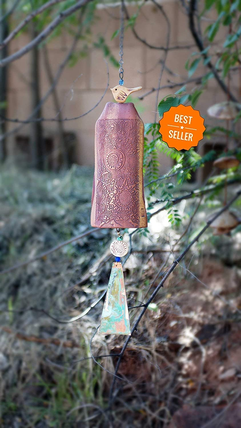 38b13fd9b2d7 Wedding Gifts Handmade Wind Chime Nature Art Weddingwire Boho Garden Bell  Gift Ideas for Couples Bestselling Rustic Wedding Favor Romantic Gift Ideas  Newly ...