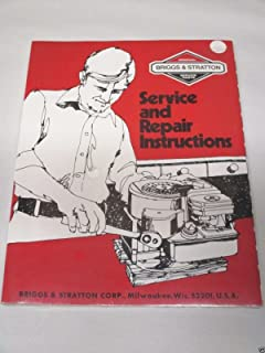 How to repair briggs and stratton engines paul k dempsey briggs stratton single cylinder l head built after 1981 repair manual fandeluxe Image collections