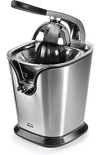 Lacor 69120 Exprimidor eléctrico con Brazo, Libre de BPA, 160 W, 120 W, 0.35 litros, Acero…