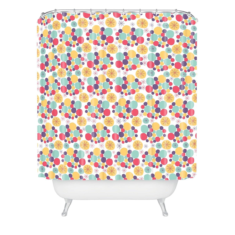 Standard Deny Designs 71 by 74-Inch Gabriela Larios Arbombas Shower Curtain